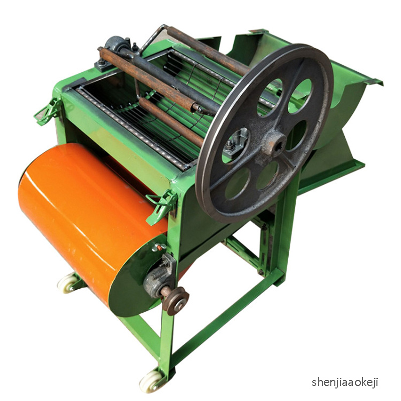 Peanut Sheller Peanut Shelling Machine Home Small Squeeze Oil Peanut Peeling Machine Broken Skin Machine 220V 150~200kg/h 220v