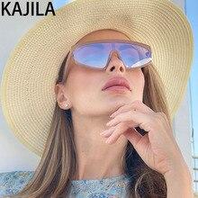 Rectangle Oversized Sunglasses Women 2020 One Piece Trending Eyewear Outdoor
