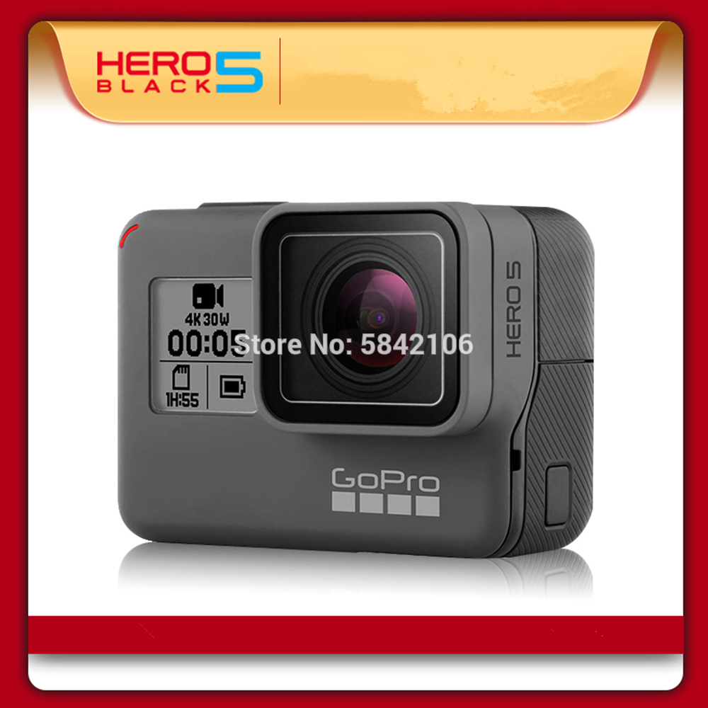 Action-Camera Gopro Hero Black Outdoor 5 with 4K Ultra HD Video