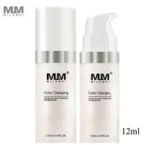 Image 2 - Makeup Color Changing Liquid Foundation Makeup Change To Your Skin Tone By Just Blending TLM Foundation Color Changing maquiagem