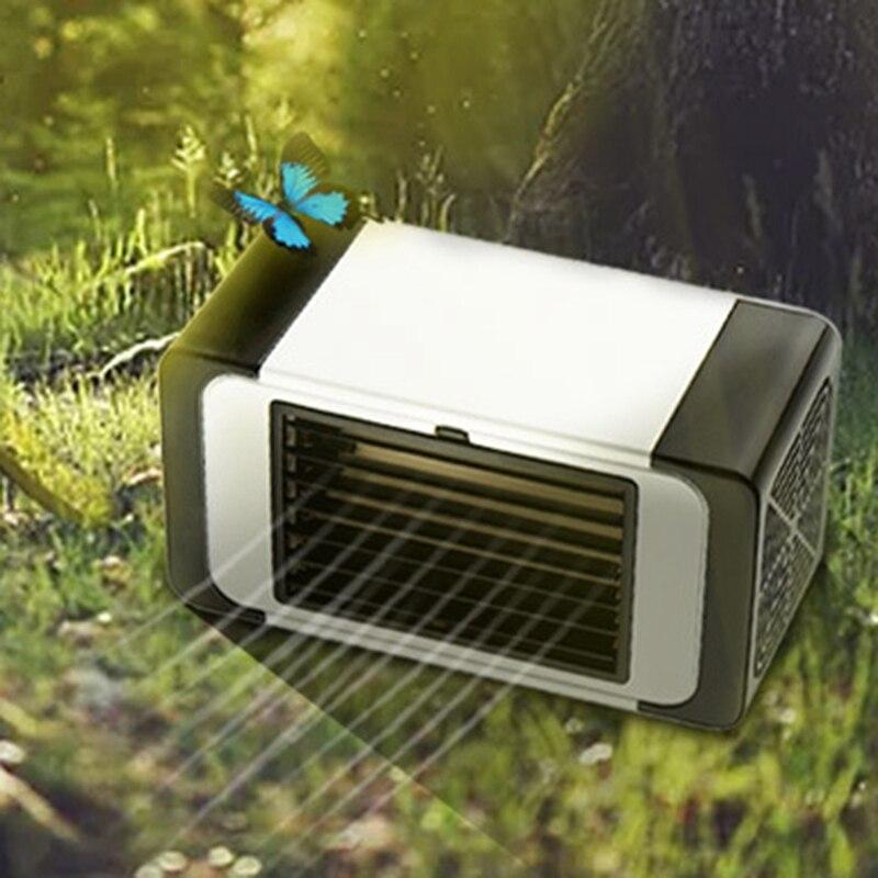 Ev Aletleri'ten Fanlar'de Uygun HAVA SOĞUTUCU Fan Taşınabilir Usb Klima Nemlendirici Alan Kolay Serin Temizler Hava Soğutma Fanı Ev Ofis için title=