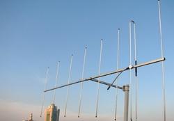 VHF 144Myagi antenna 145M HAM radio 8element 150MHz yagi antenna high gain 12dBi VHF 145MH radio repeater yagi antenna