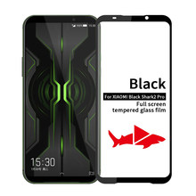 Black Shark 2 Pro Glass Screen Protector For Xiaomi Blackshark 2 Pro Protective Safety Glass Blackshark2 Pro Xiomi Xiome Xiaomii(China)