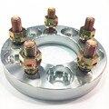(2 шт.) 5x5 5 ''прокладки колеса pneus de carro 5x139 7 прокладка для Sorento Jimny авто аксессуары алюминиевые колесные адаптеры