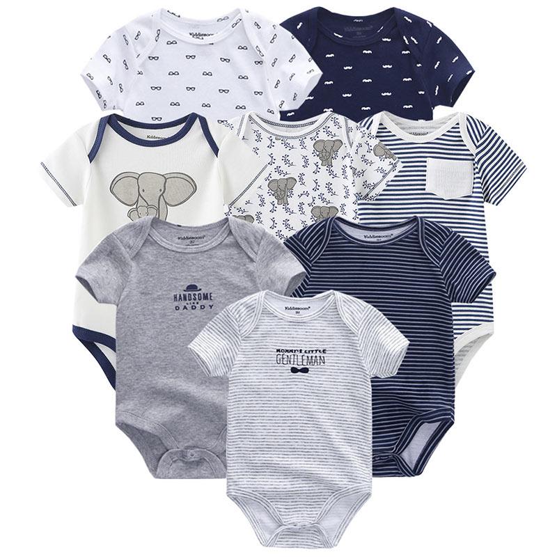8 шт./лот; Летний комбинезон с короткими рукавами для маленьких мальчиков; Комбинезон для маленьких мальчиков; ropa bebe; Одежда для маленьких мальчиков|Боди для малышей| | АлиЭкспресс