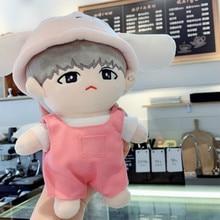 [MYKPOP] Товары для кукол KPOP: шапка+ свитер+ комбинезон, комплект из 3 предметов для кукол 20 см(без куклы) EXO/Bangtan Fans SA19112104