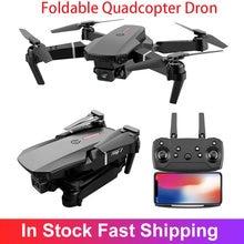 E88 Pro Радиоуправляемый Дрон с камерой 4K 1080P 720 двойной Камера WI-FI с антенной FPV Вертолет для фотографии складного квадрокоптера Дрон игрушки ...
