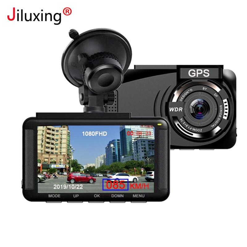 Jiluxing X06S FHD 1080P GPS positionnement voiture DVR vitesse Mini tableau de bord caméra enregistreur vidéo enregistreur automatique vision nocturne enregistrement en boucle