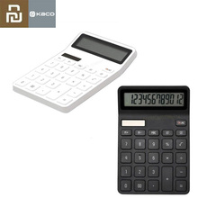 Youpin Kaco Lemo Calculator LCD Display Intelligent Shutdown Function Calculator Student Calculation Tool No Battery