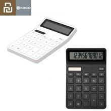 Youpin – calculatrice Kaco Lemo, avec écran LCD, fonction d'arrêt intelligente, outil de calcul pour étudiant, sans batterie