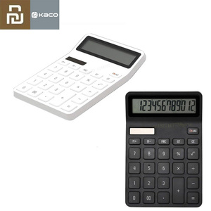 Image 1 - Youpin Kaco Lemo 계산기 LCD 디스플레이 지능형 셧다운 기능 계산기 학생 계산 도구 배터리 없음