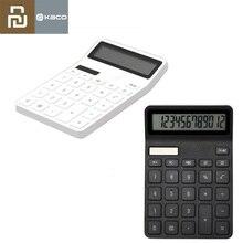 Youpin kaco lemo 電卓 lcd ディスプレイインテリジェントシャットダウン機能電卓学生計算ツールバッテリなし