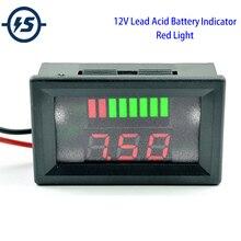 Индикатор состояния панели монитора аккумулятора автомобиля 12 в 24 в 36 в ЖК-цифровой тестер батареи для универсального автомобиля