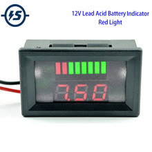 Battery Gauge Car Capacity Monitor Panel Status Indicator 12V 24V 36V LCD Digital Battery Tester for Universal Auto Car Vehicle(China)