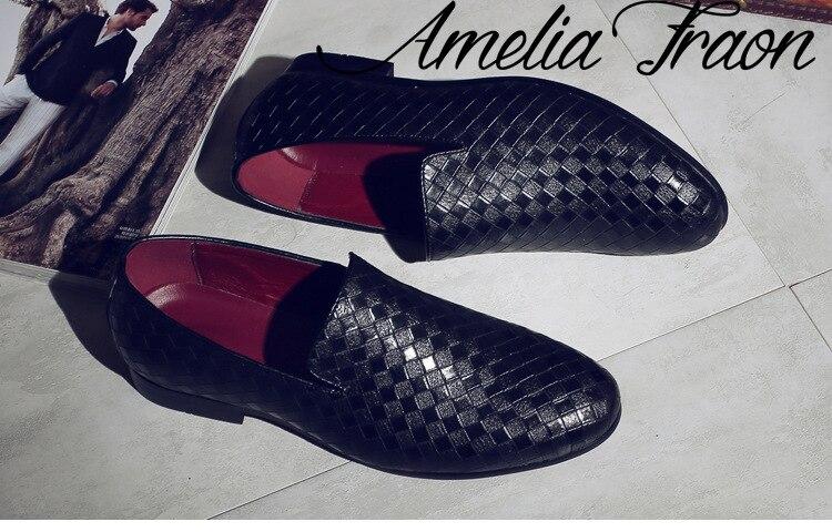 mocassins sapatos vermelho plus size 47 48