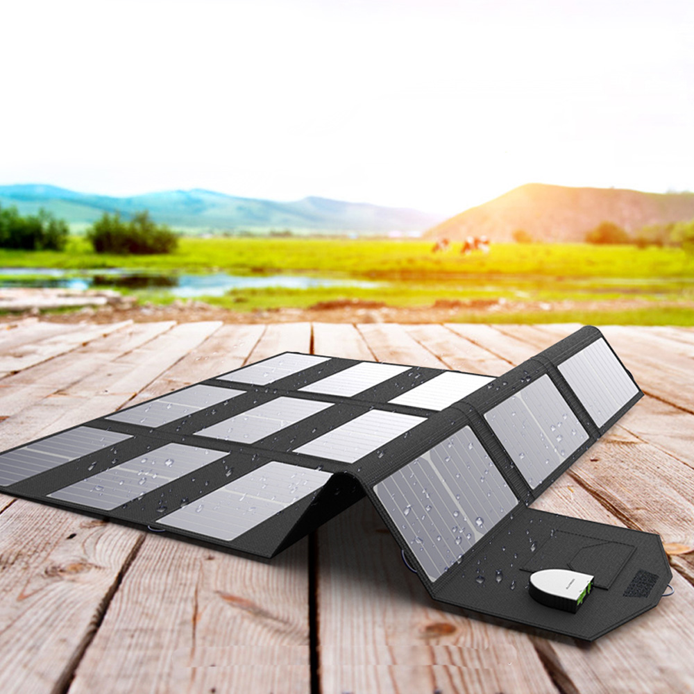<font><b>100W</b></font> 80W <font><b>Solar</b></font> <font><b>Panels</b></font> 5V <font><b>12V</b></font> 18V <font><b>100W</b></font> <font><b>Solar</b></font> <font><b>Panel</b></font> Charger for iPhone iPad Macbook Samsung LG Hp ASUS Dell Car Battery and more. image