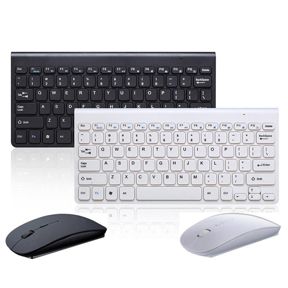2.4GHz Wireless Keyboard + Wireless Mouse Combo Set For Laptop PC Desktop LFX-ING