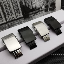 En kaliteli paslanmaz çelik toka Breitling watch band 20*20mm parlatma mat tıklayın toka saat kayışı kayış 1884 logo üzerinde