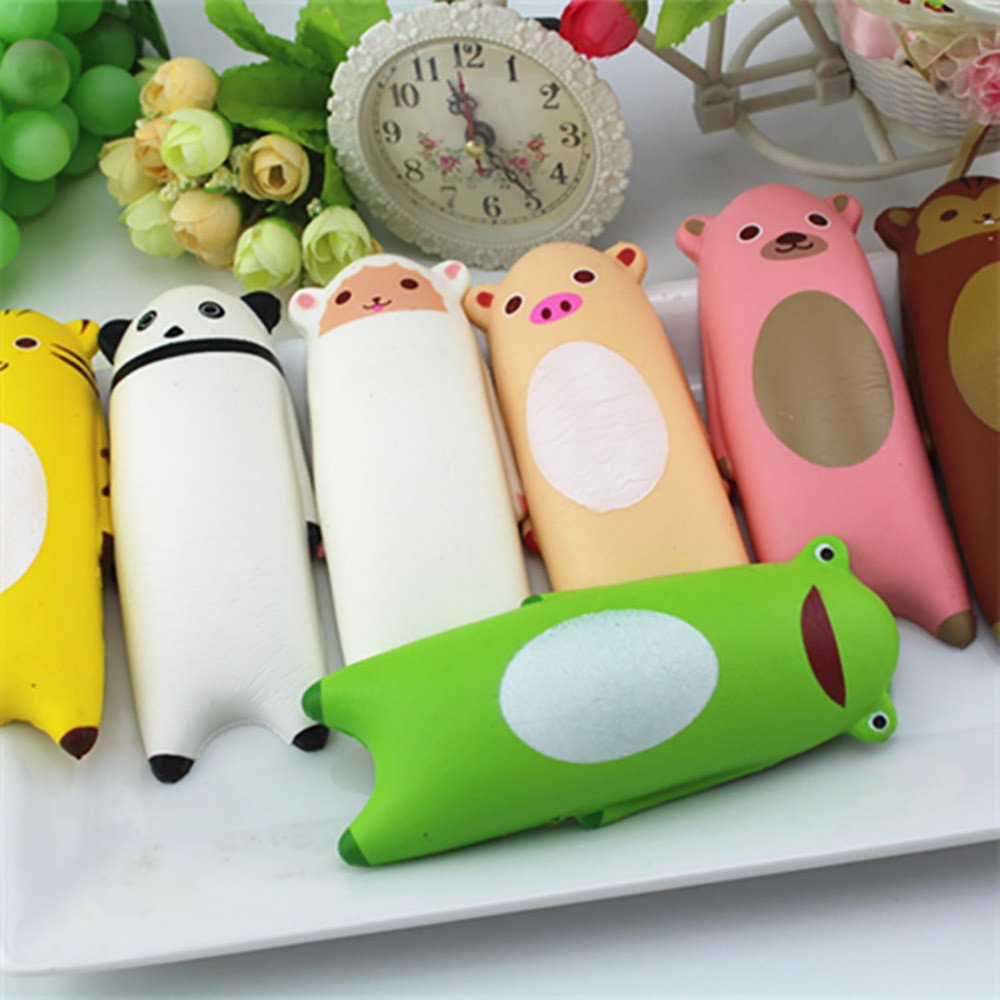 Squishy Cute Animal Bread Phone Straps Slowing Rising Toys Children Gadget Fun Squisy Novelty Gag Stress Relief  L1217