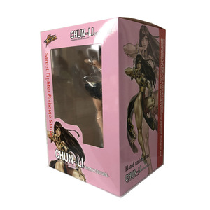 Image 5 - 23cm PVC Sexy Girl Game Kotobukiya Chun Li Figures Toy Doll Anime Cammy Action Figure Cartoon Figura Collection Model for Kids