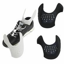 1 Pair Practical Shoe Stretcher Bending Crack Anti Expander 35-46 Keeping Crease Sneaker Support Washable Toe Size Cap Shie E4P5