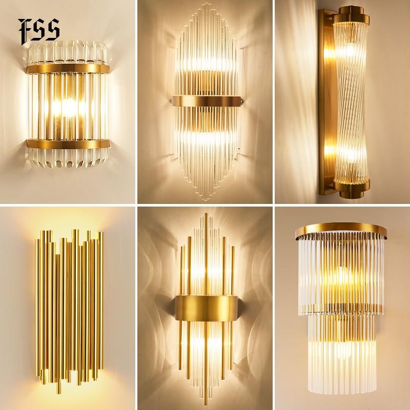 Moderno luzes de parede cabeceira para o quarto luz parede sala estar decoração arandela led casa iluminação do banheiro luminárias