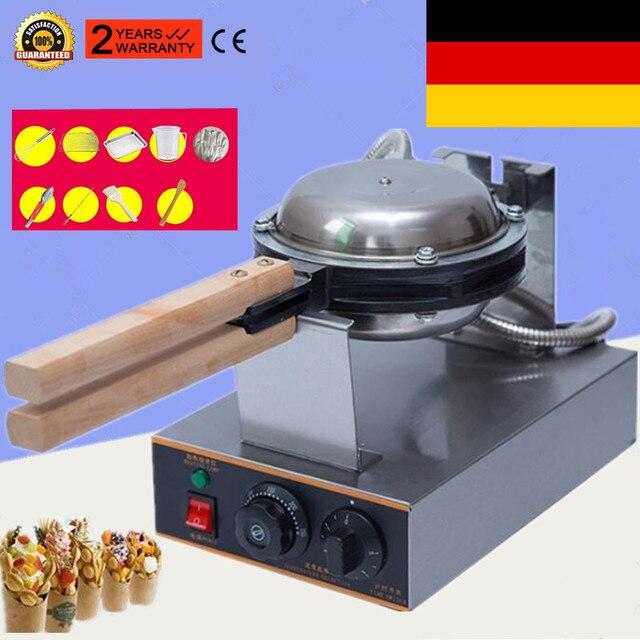 110V 220V מסחרי חשמלי ביצת בועת ופל יצרנית מכונת Eggettes פאף עוגת ברזל יצרנית מכונה בועה ביצת עוגה תנור