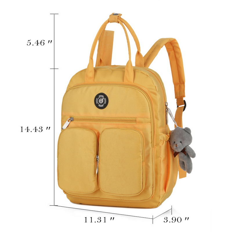 H8633bb240ac0439bba76ea8d124513f05 - New Waterproof Nylon Backpack for Women Multi Pocket Travel Backpacks Female School Bag for Teenage Girls Dropshipping