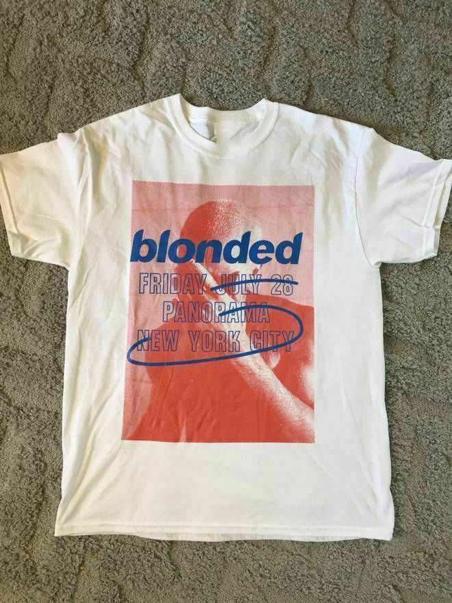 Camiseta Blonded del océano de la vendimia rara caliente Panorama Fyf reimpresión nuevo extraño cosas volver a la camiseta del Anime del futuro