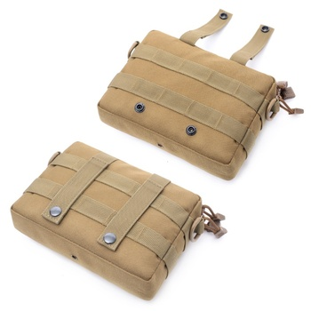 Tactical Pocket Organizer EDC Pouch Hunting Pack Tool Bag Small Army Utility Field Sundries Pouches Military Belt Pouch Backpack new tactical military hunting small utility pouch pack army molle cover scheme field sundries bags outdoor sports mess briefcase