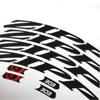 Bicycle Stickers for Bike 303 Carbon Wheel Set Rims Stickers MTB Road Cycling Carbon Wheel Decals Bike Wheelset Sticker