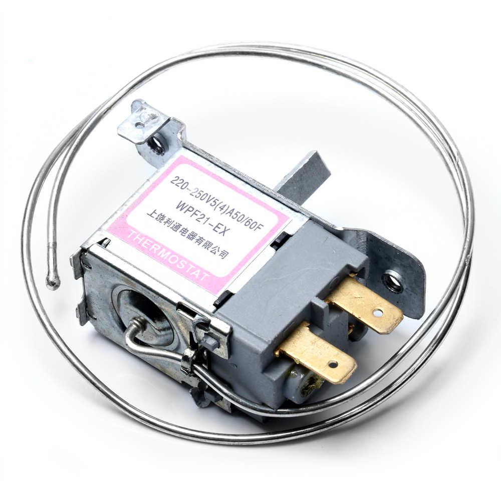WPF22-L 2Pin Réfrigérateur Thermostat ménage métal Contrôleur de Température NEUF