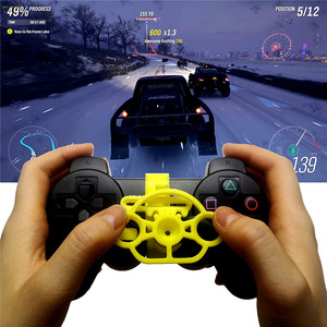 Image 1 - Mini Steering Wheel Controller Replacement Accessories for Sony Playstation PS3 Racing Game