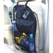 VODOOL Car Back Seat Organizer Cover Storage Bag Waterproof Multi Pocket Hanging Pouch Net Assorted 58cmx38cm Auto Accessories
