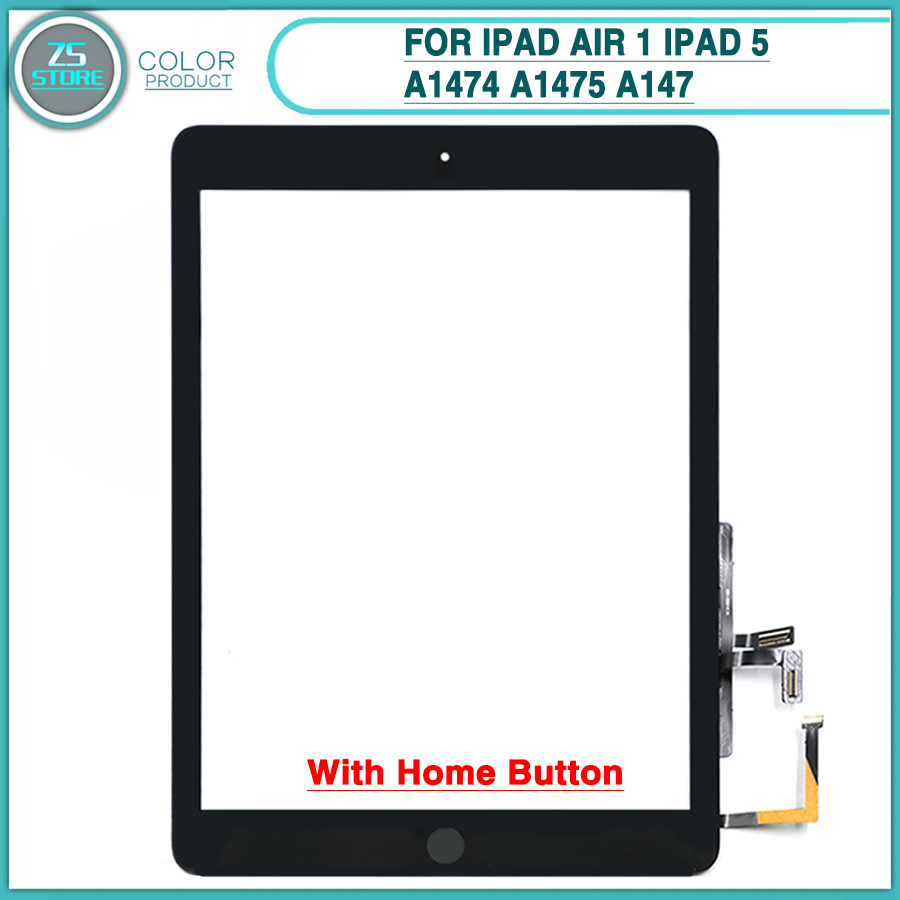 10PCS New touchscreen For iPad Air 1 iPad 5 A1474 A1475 A147 Touch Screen Panel Digitizer
