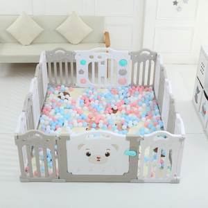 Playpen Park Baby Children for Ball-Pool-Pit Edible PP Babies Fencing Spliced