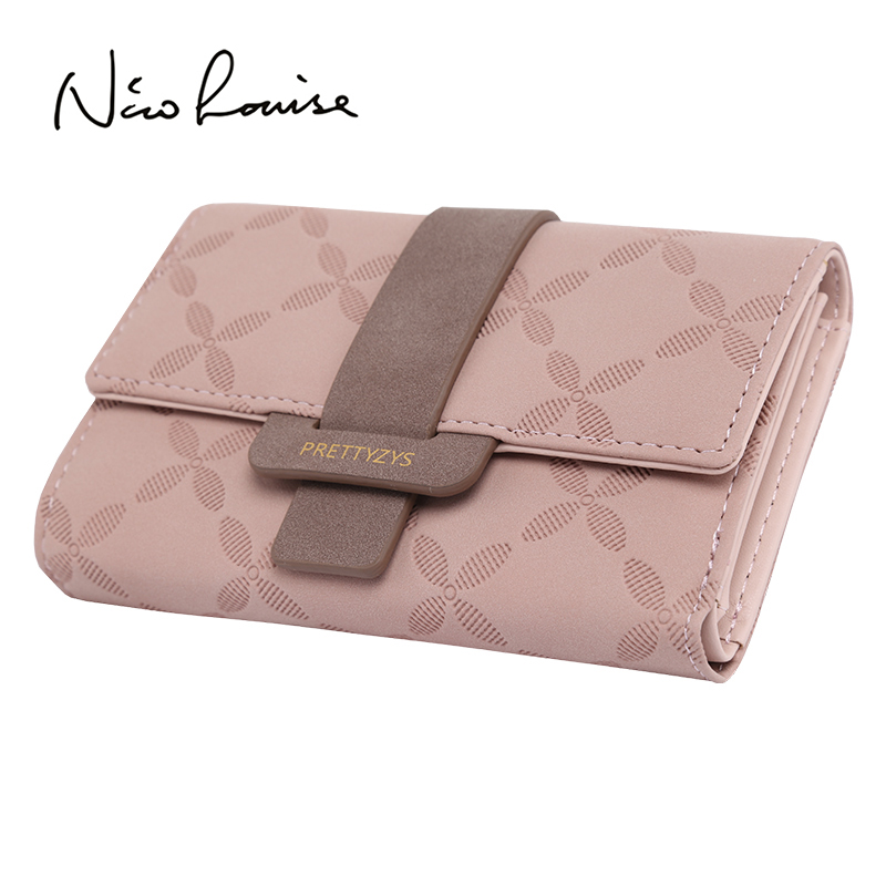 Fashion Female Wallet Leather Women Wallets Floral Foldable Change Purse Credit Card Lady Coin Purses Holders For Girls Carteira