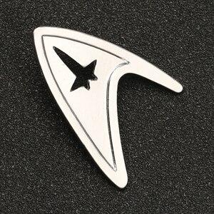 Image 3 - Star Trek Spilla Spille TMP La Motion Picture Ammiraglio Comando Distintivo di Modo di Colore Argento New Hot Movie Gioielli Delle Donne Degli Uomini commercio allingrosso