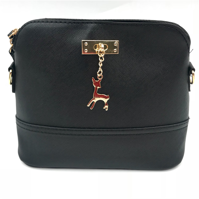 Hot Women's Handbags Fashion Shell Bag Leather Women Messenger Bags Girls For Shoulder Bags Decorative Deer Branded Bag