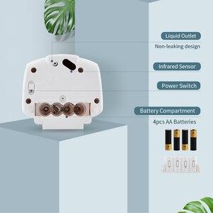 Image 4 - 600 Ml Capaciteit Automatische Zeepdispenser Touchless Sensor Handdesinfecterend Wasmiddel Dispenser Wall Mounted Voor Badkamer Keuken
