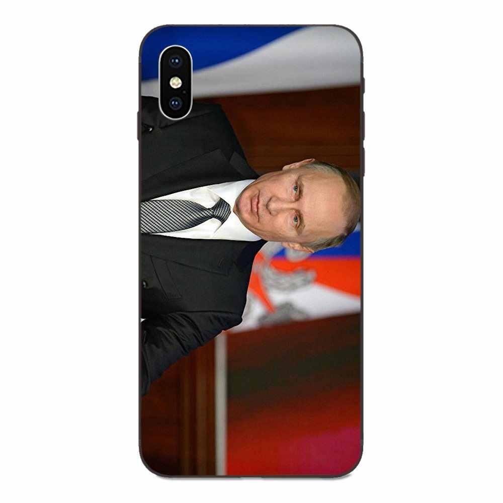 Russia Vladimir Vladimirovich Putin Per Apple iPhone X XS Max XR 4 4S 5 5S SE 6 6S 7 8 Più Coque Borsette Cassa Del Telefono