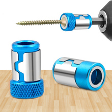 Screwdriver-Bit Magnet Universal Shank for Anti-Corrosion Powerful-Ring Metal 1/4-