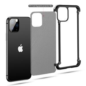 Image 3 - Funda de teléfono para Iphone 11 11pro 11pro max, bolsa de aire de lujo con marco de Metal, a prueba de golpes, original, Bumper Back Bover