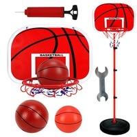 New Adjustable Basketball Stand Basket Holder Hoop Goal Outdoor Fun Sports Activity Game Mini Indoor Child Kids Boys Toys Sport