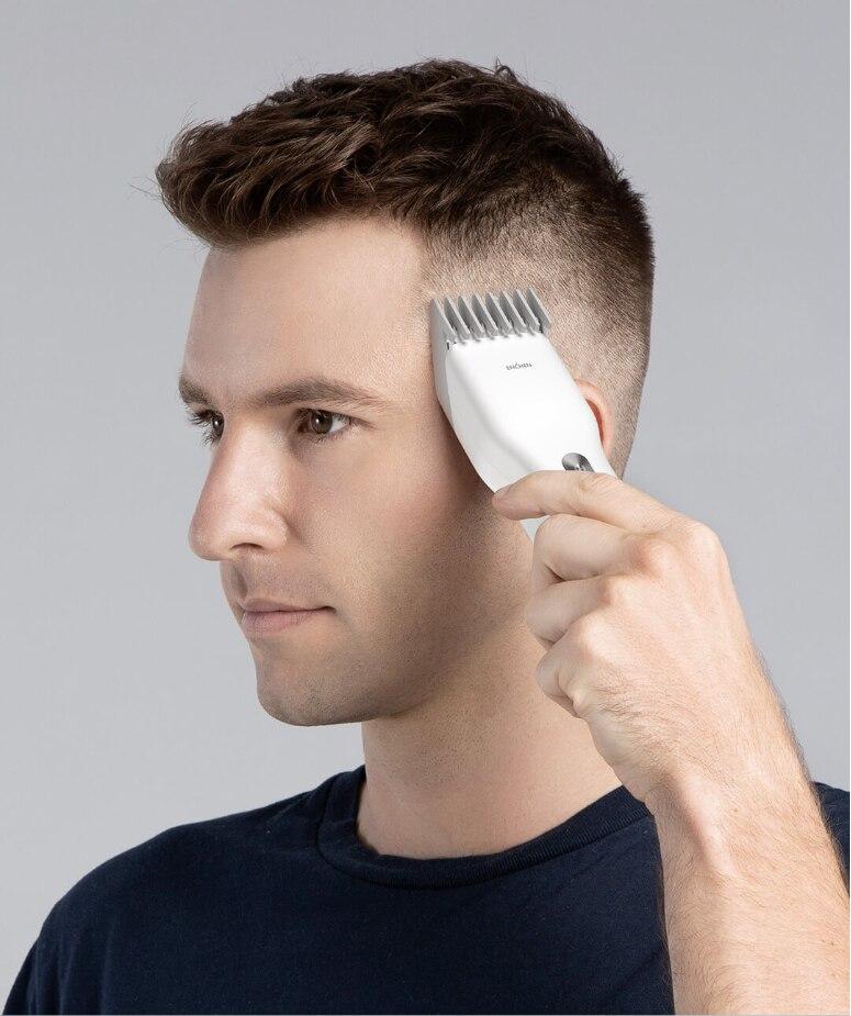 Enchen aparador de cabelo elétrico cortador de