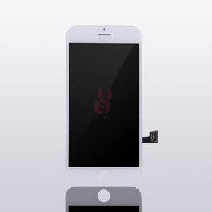 Image 2 - 10 adet/grup 100% Test AAA hiçbir ölü piksel IPhone 7 için LCD ekran dokunmatik ekran Digitizer meclisi yedek siyah beyaz ücretsiz DHL