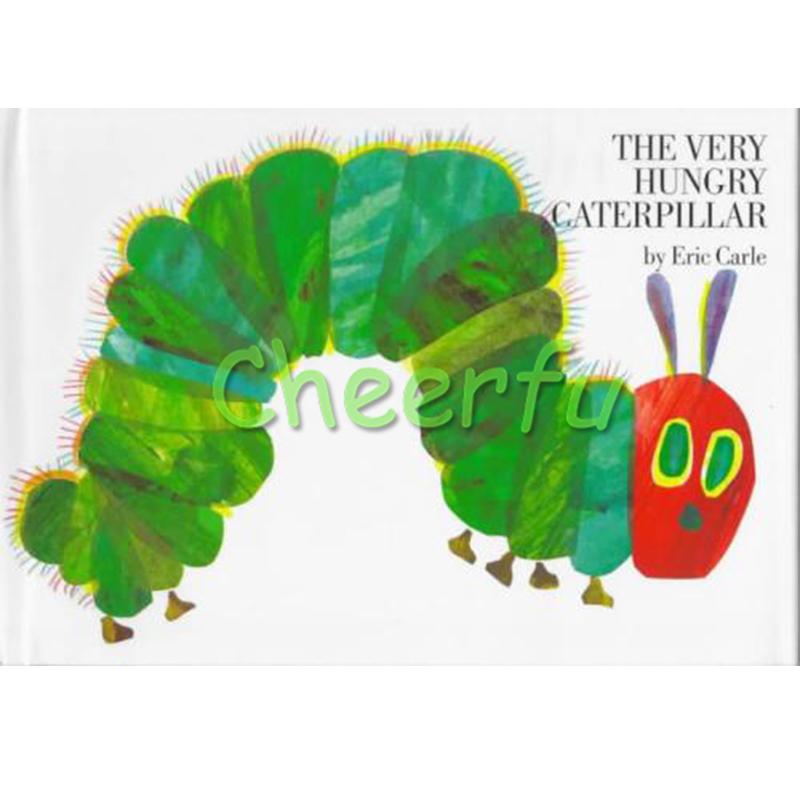 The Very Hungry Caterpillar By Eric Carle Educational English Picture Book Learning Card Story Book For Baby Kids Children Gifts