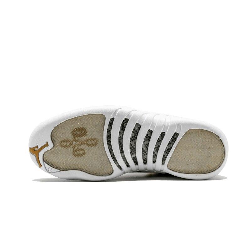 Original Authentic Nike Air Jordan 12 Retro OVO Men's Basketball Shoes Comfortable Classic Athletic Designer Footwear 873864-03 27