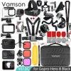 Vamson – Kit d'accessoires pour Gopro Hero 8 Black, Super ensemble boîtier étanche, montage sur trépied monopode pour Gopro Hero 8 VS12