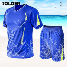 Plus Size M~9XL Casual Men Sets Summer Tops & Shorts Mens T Shirts+Shorts Tracksuit Male Quick Dry Sports Suit Jogger Tracksuits(China)